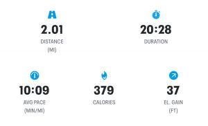 Week 6 - Run 2 Results Screenshot